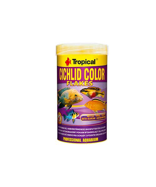 Tropical Cichlid Color Flakes   Ração para Peixes  - KAUAR