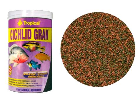Tropical Cichlid Gran | Ração para Peixes  - KAUAR