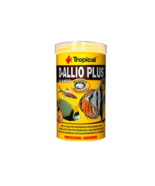 Tropical D-Allio Plus Flakes | Ração para Peixes  - KAUAR