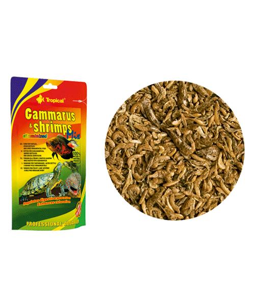 Tropical Gammarus & Shrimps Mix Doypack   Ração para Peixes   - KAUAR