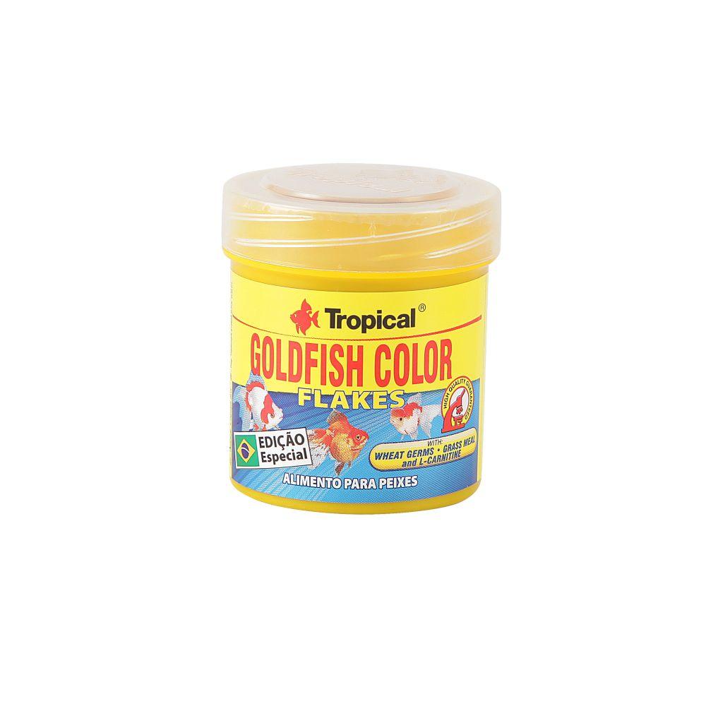 Tropical GoldFish Colour Flakes | Ração para Peixes  - KAUAR