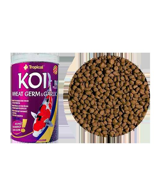 Tropical Koi Wheat Germ & Garlic MD Pellet | Ração para Peixes  - KAUAR
