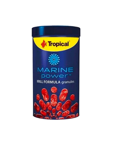 Tropical Marine Power Krill Formula Granules   Ração para Peixes  - KAUAR