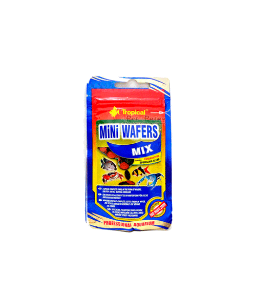 Tropical Mini Wafers Mix | Ração para Peixes   - KAUAR