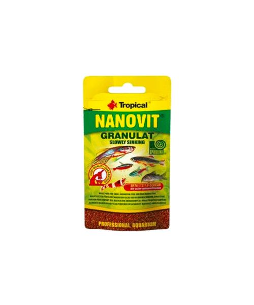 Tropical Nanovit Granulat | Ração para Peixes  - KAUAR