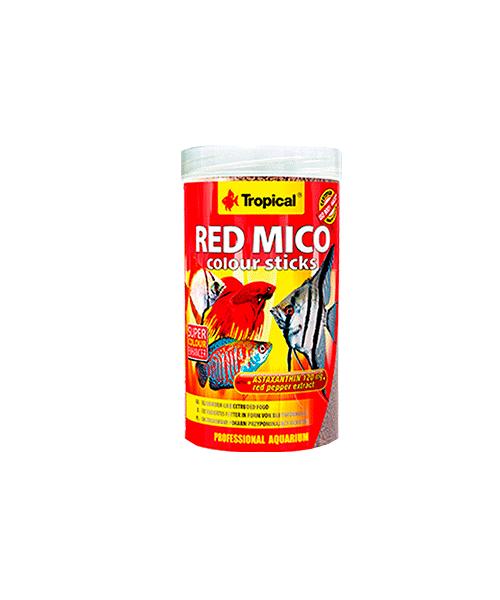 Tropical Red Mico Colour Sticks | Ração para Peixes   - KAUAR