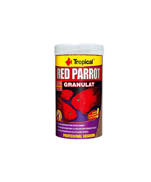 Tropical Red Parrot Granulat | Ração para Peixes  - KAUAR