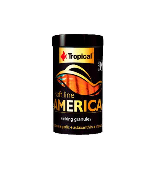 Tropical Soft Line America Size M | Ração para Peixes  - KAUAR