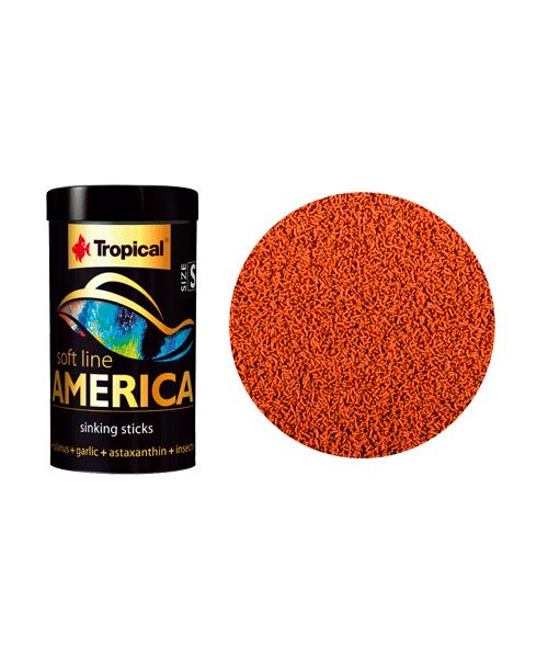 Tropical Soft Line America Size S | Ração para Peixes  - KAUAR