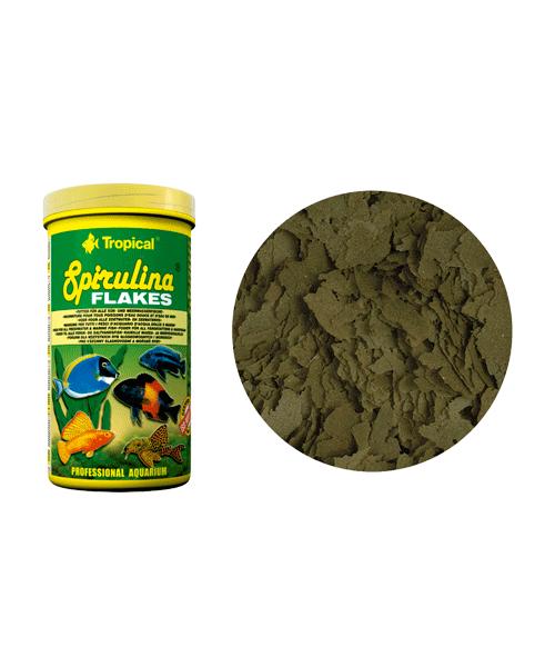 Tropical Spirulina Flakes | Ração para Peixes  - KAUAR