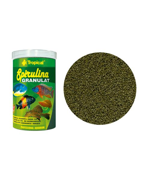 Tropical Spirulina Granulat | Ração para Peixes  - KAUAR