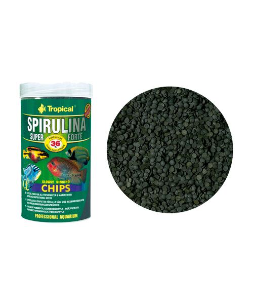Tropical Super Spirulina Forte Chips | Ração para Peixes  - KAUAR
