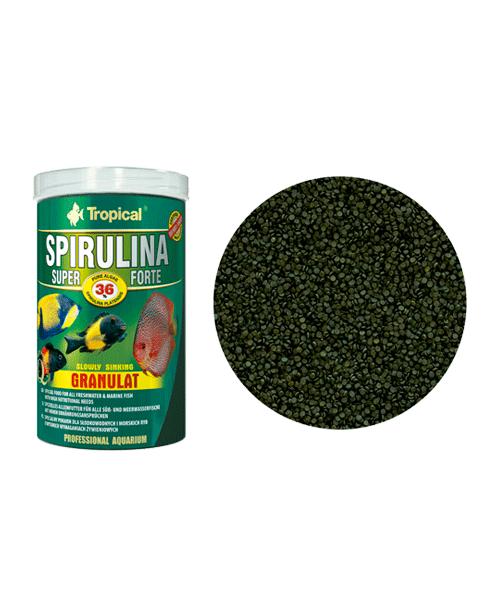 Tropical Super Spirulina Forte Granulat   Ração para Peixes  - KAUAR