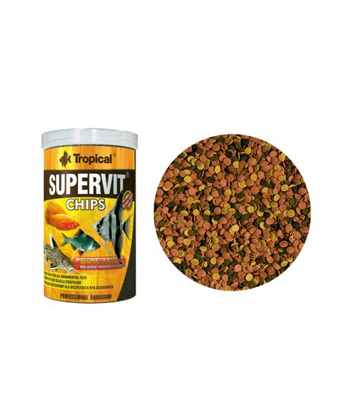 Tropical Supervit Chips | Ração para Peixes  - KAUAR