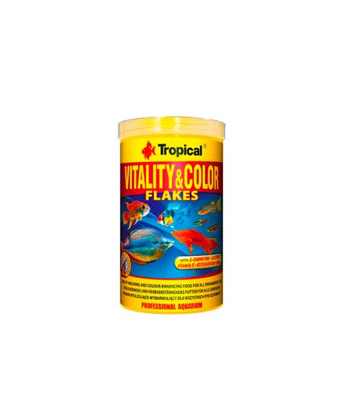 Tropical Vitality & Color Flakes | Ração para Peixes  - KAUAR