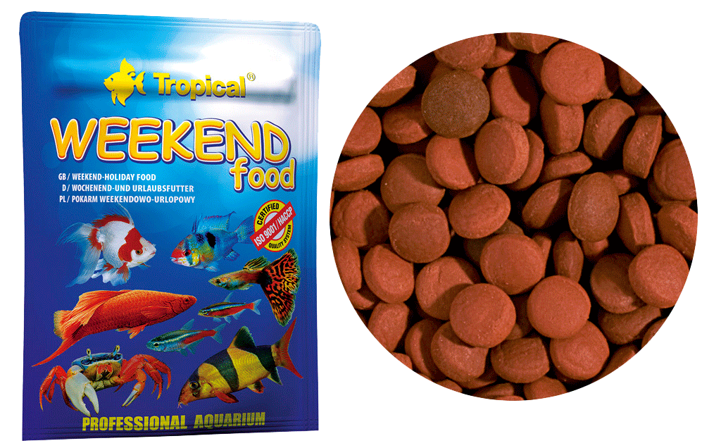 Tropical Weekend Food | Ração para Peixes  - KAUAR