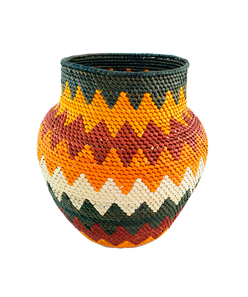Vasos Decorativos | Arte Indígena |  Urucureá M5  - KAUAR
