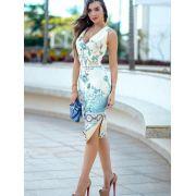 Vestido elegante midi