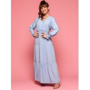 Vestido Fernanda Azul claro