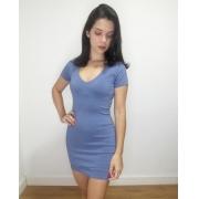 Vestido sarja