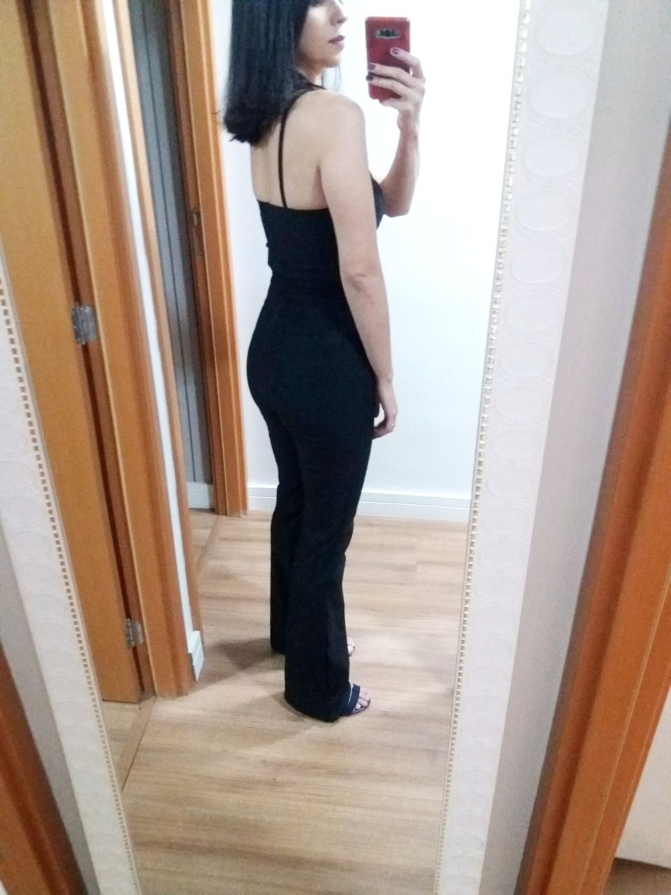 Macacão longo feminino