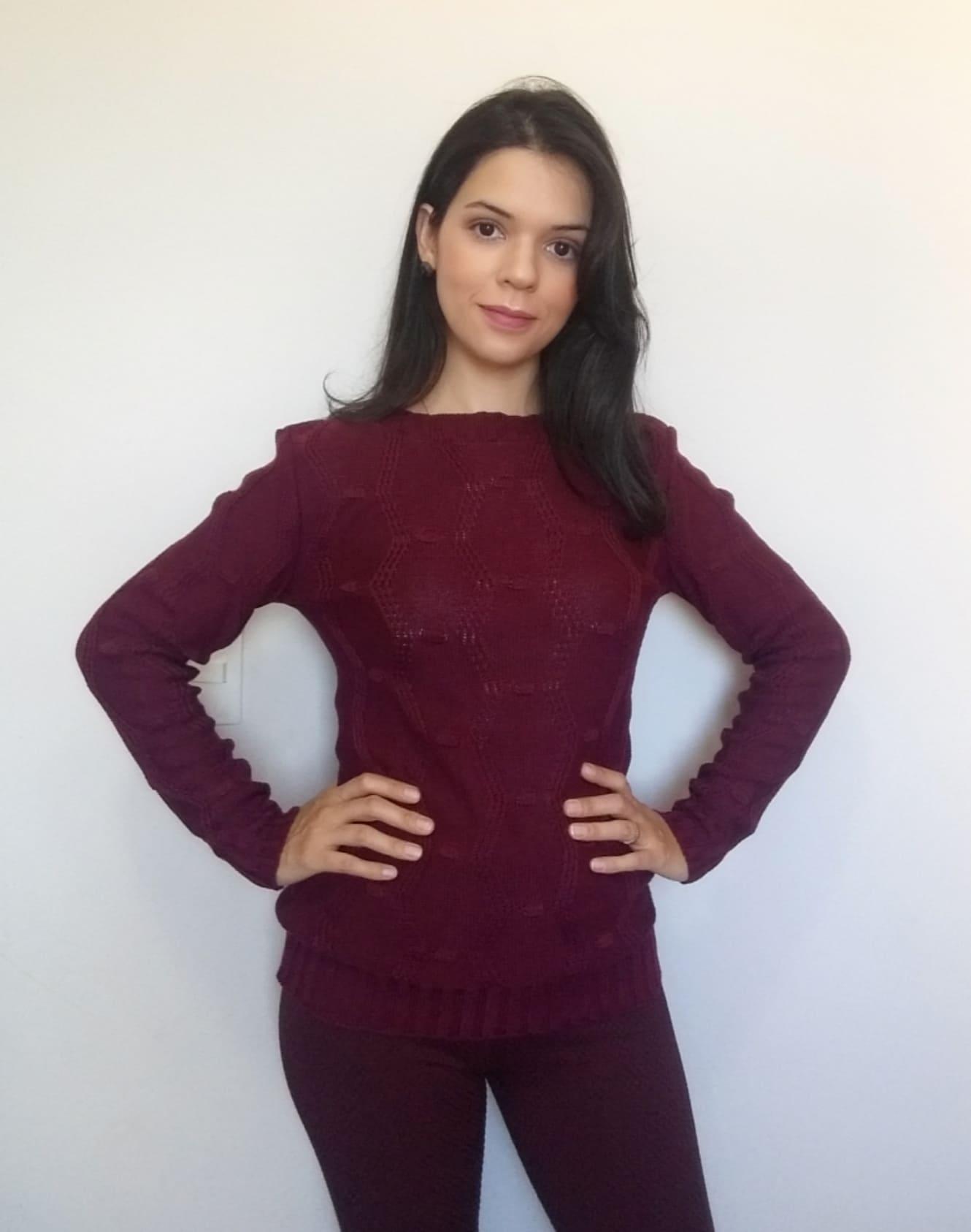 Suéter pipoca