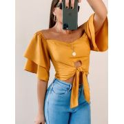 Blusa Fiorella Flare