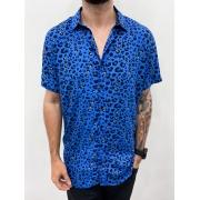 Blusão Safari Azul