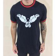 Camisa Luva Mickey