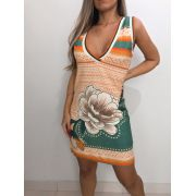 Vestido Retilínea
