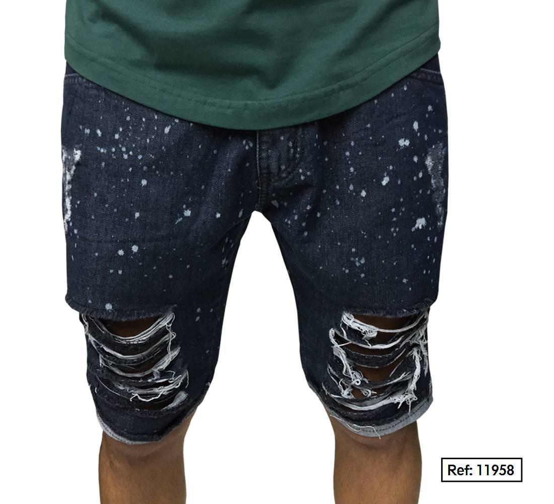 Bermuda Jeans Respingos