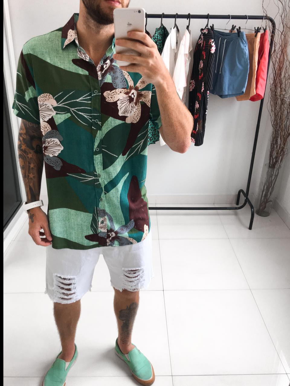 Blusão Floral Aquarela