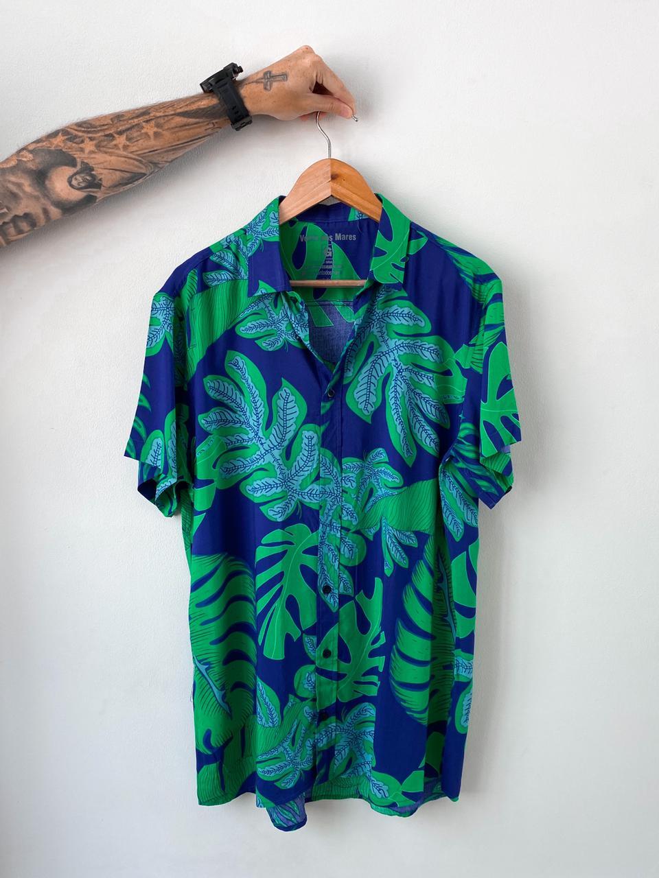 Blusão Folhagem Verde