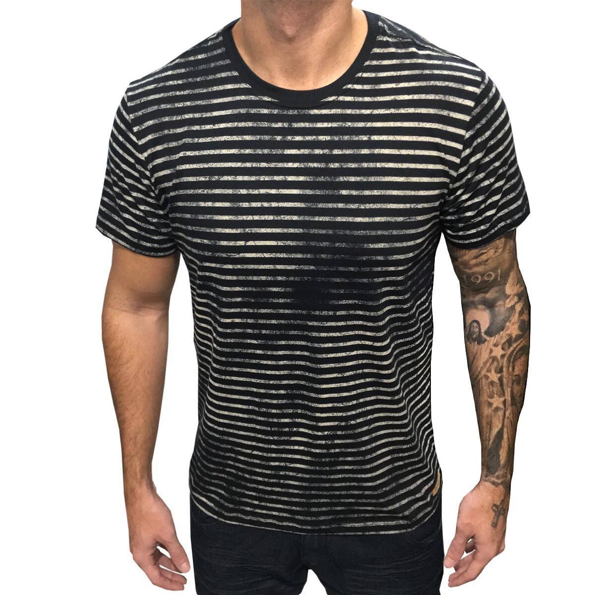 Camisa FullPrint Listrada