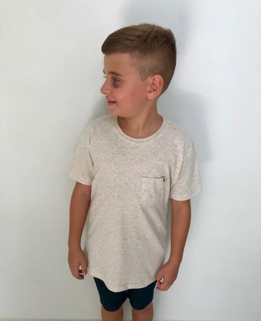 Camisa Infantil Bolsinho