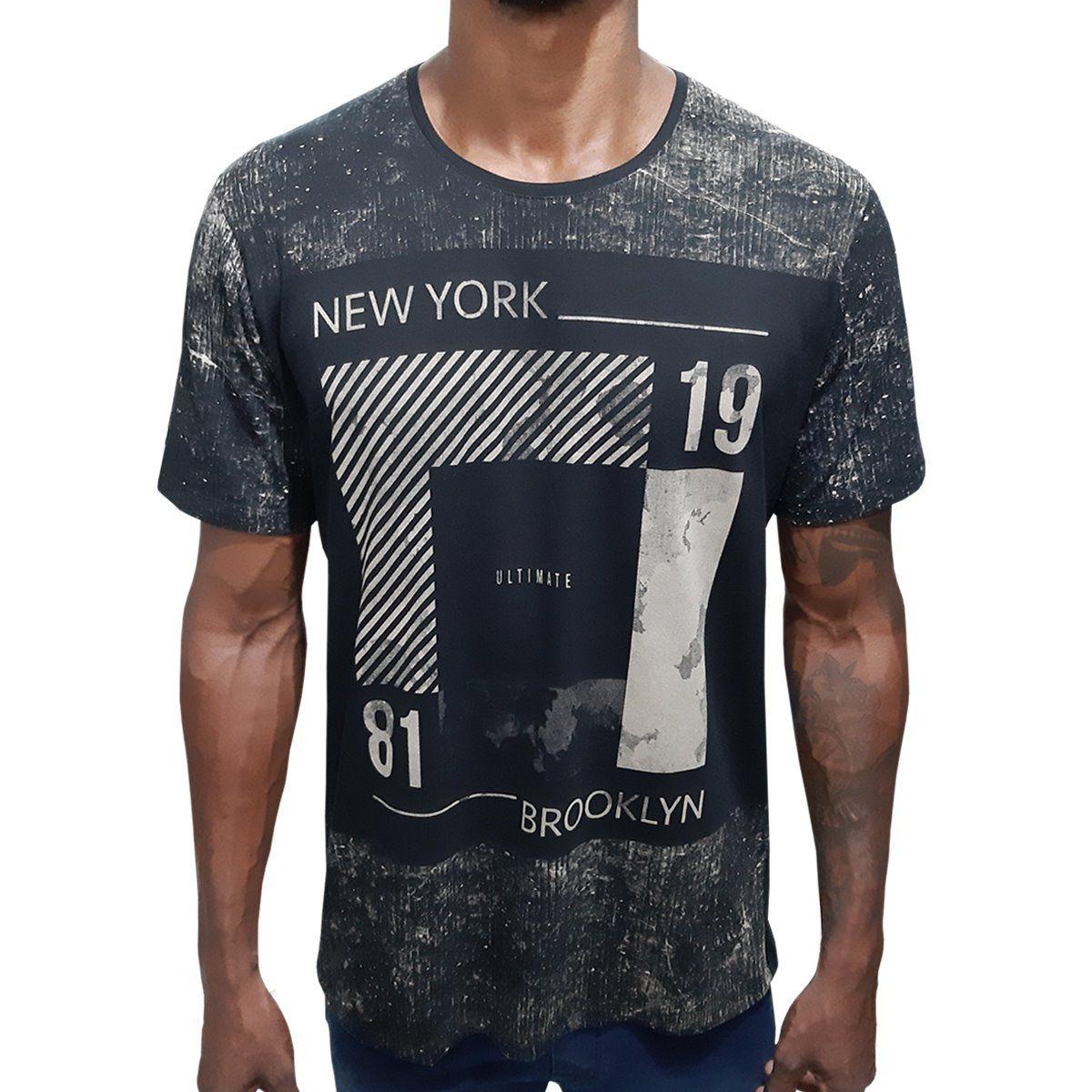 Camisa Rajada NY