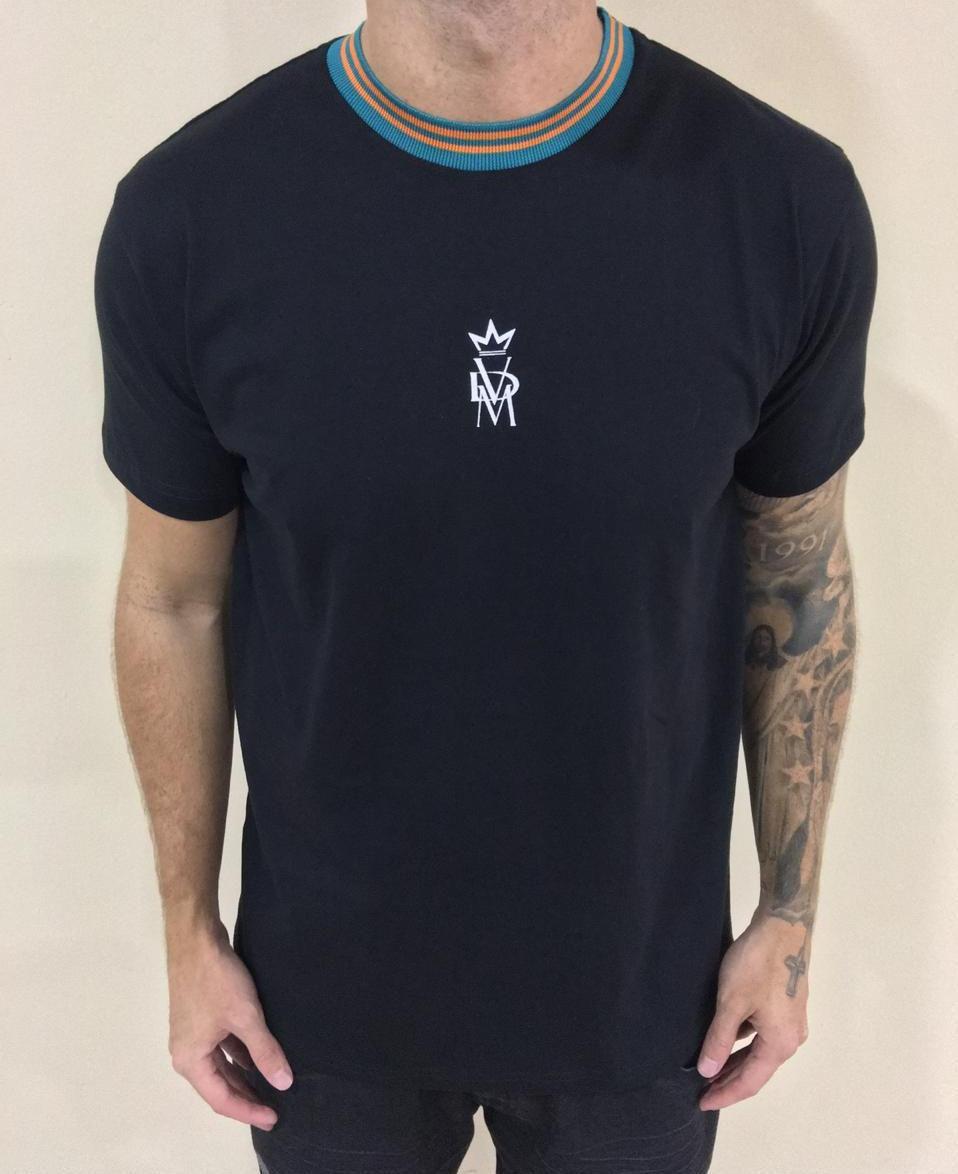 Camisa Retilínea Logo