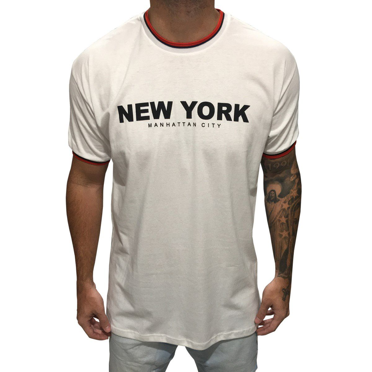 Camisa Retilínea New York