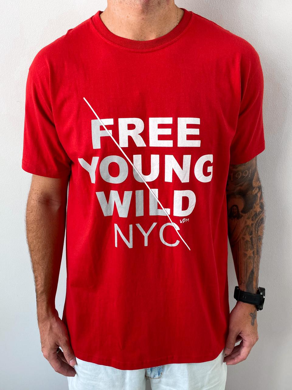 Camisa Young Wild
