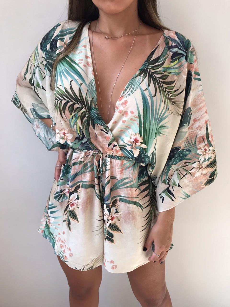 Macaquinho Kimono