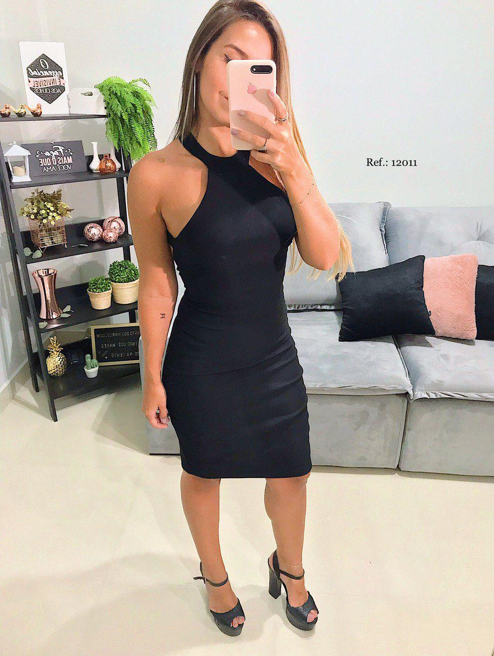 Vestido Frente Unica