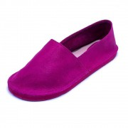 Alpargatas Teodora's em Couro Camure AL1910 Pink