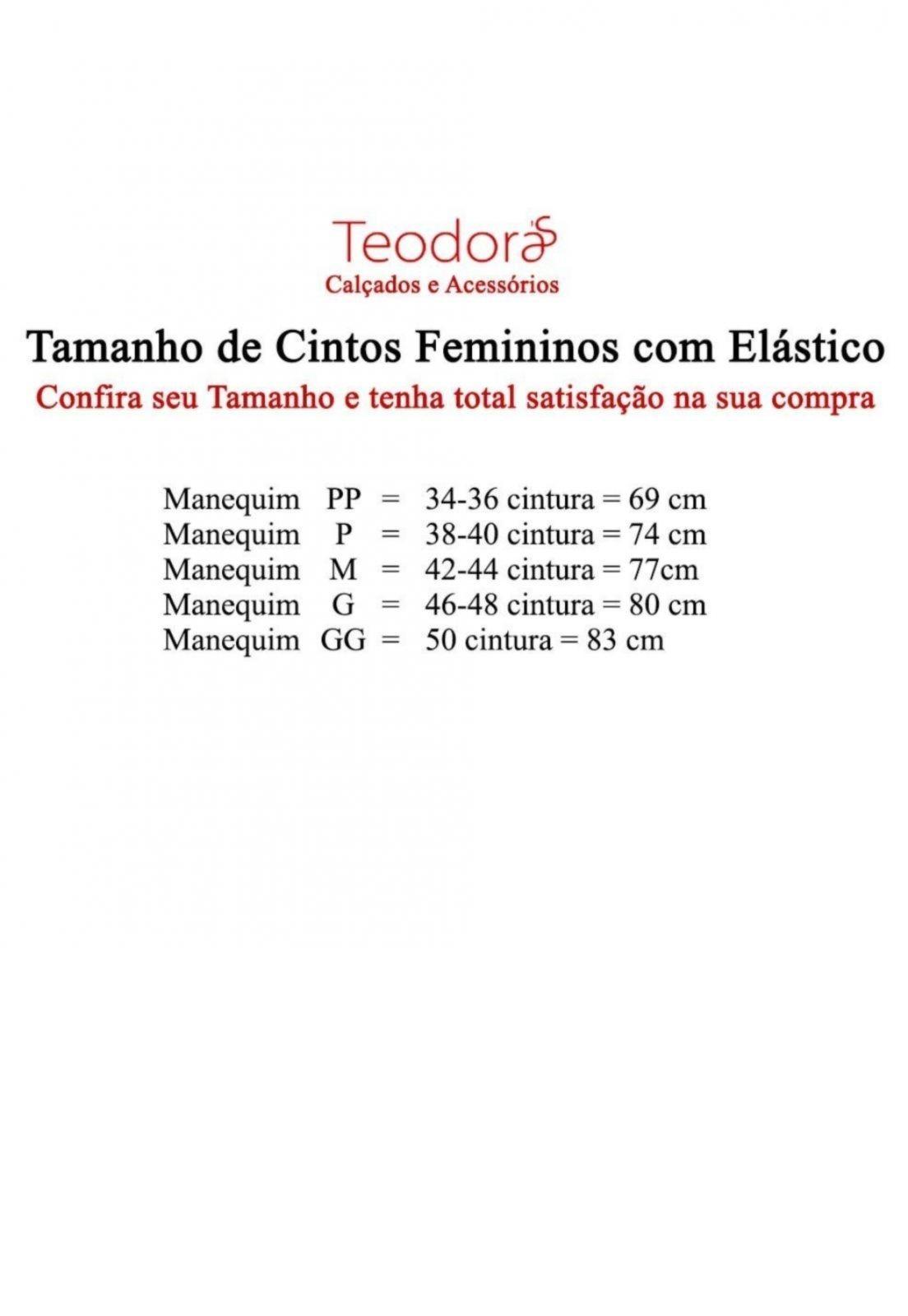Cinto Teodora's Celine Couro Nude
