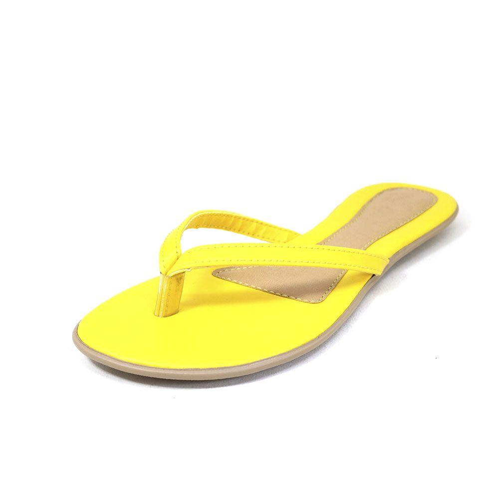 Rasteira Teodora's Basic Amarelo