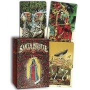 Deck - Santa Muerte Tarot Deck + Livro + Presente