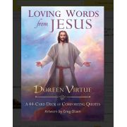 Loving Words From Jesus 44-card Deck Of Comforting Quote + P