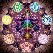 Mandala 7 Chakras Em Veludo + Presente