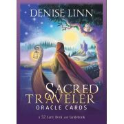 Sacred Traveler Oracle Cards 52 Deck Guidebook + Presente