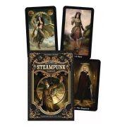 The Steampunk Tarot Box Cartas Livro + Um Presente Para Você