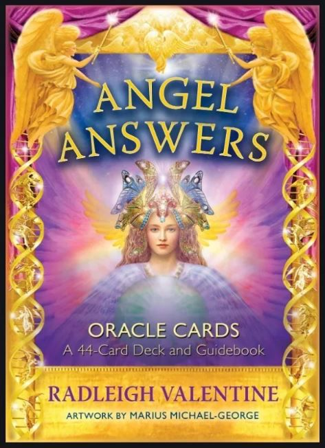 Angel Answers Oracle 44-cards Deck And Guidebook + Presente